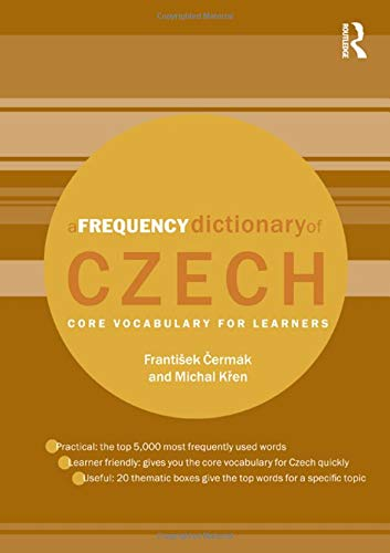 9780415576611: A Frequency Dictionary of Czech: Core Vocabulary for Learners
