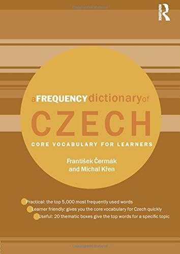 9780415576628: A Frequency Dictionary of Czech: Core Vocabulary for Learners
