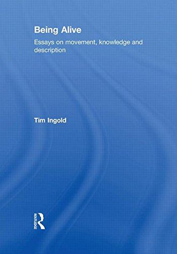 9780415576833: Being Alive: Essays on Movement, Knowledge and Description