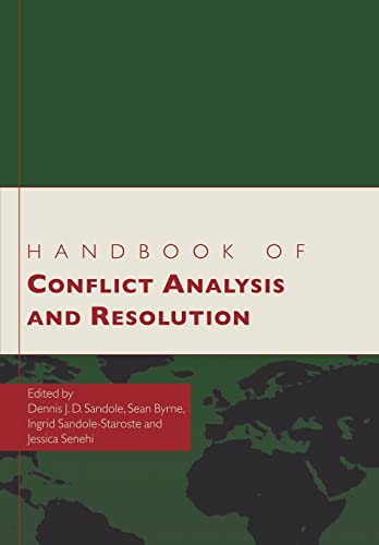 9780415577359: Handbook of Conflict Analysis and Resolution