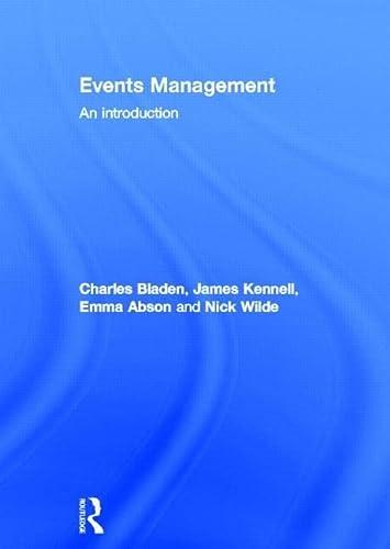 9780415577410: Events Management: An Introduction
