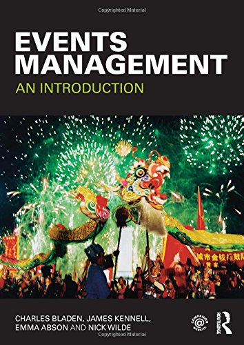 9780415577410: Events Management: An Introduction