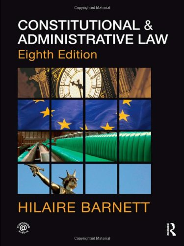 9780415578813: Constitutional & Administrative Law