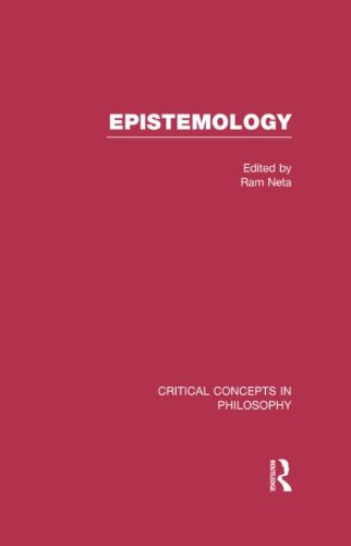 Epistemology (Hardcover): Ram Neta