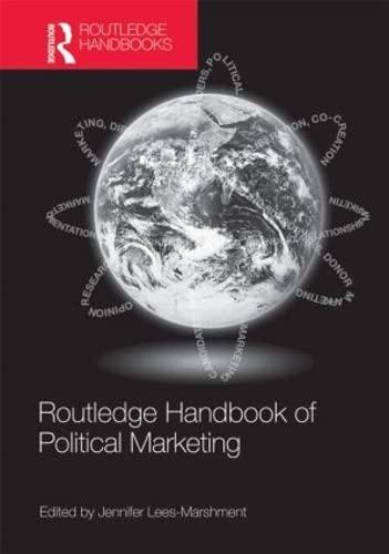 9780415579933: Routledge Handbook of Political Marketing
