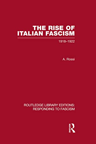 The Rise of Italian Fascism (RLE Responding: A Rossi