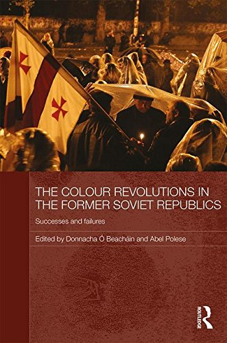 9780415580601: The Colour Revolutions in the Former Soviet Republics: Successes and Failures (Routledge Contemporary Russia and Eastern Europe Series)