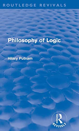 9780415580922: Philosophy of Logic (Routledge Revivals)