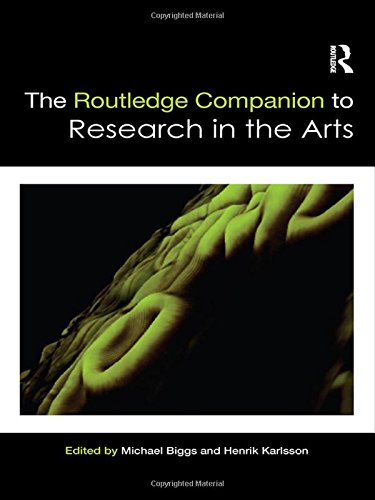 9780415581691: The Routledge Companion to Research in the Arts (Routledge Art History and Visual Studies Companions)