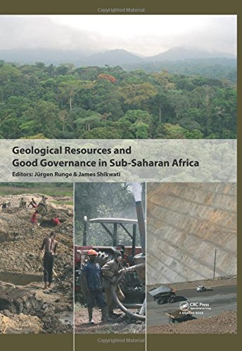9780415582674: Geological Resources and Good Governance in Sub-Saharan Africa: Holistic Approaches to Transparency and Sustainable Development in the Extractive Sector
