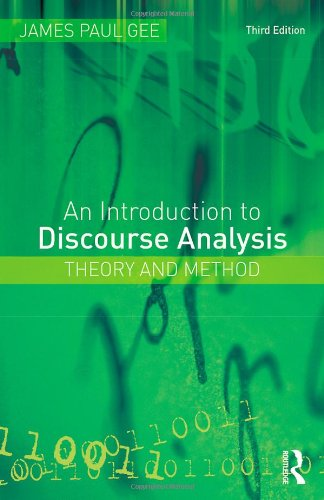9780415585705: How to Discourse Analysis and An Introduction to Discourse Analysis 3rd edition: An Introduction to Discourse Analysis: Theory and Method
