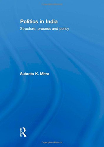 9780415585880: Politics in India: Structure, Process and Policy