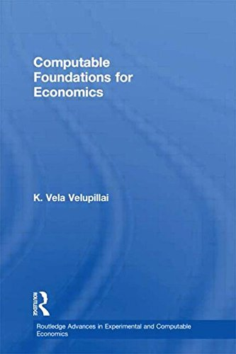 9780415586207: Computable Foundations for Economics (Routledge Advances in Experimental and Computable Economics)