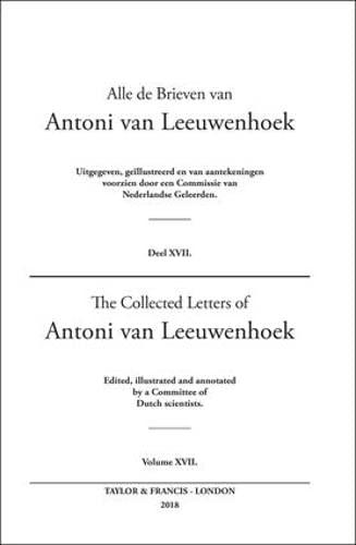9780415586429: The Collected Letters of Antoni Van Leeuwenhoek - Volume 17