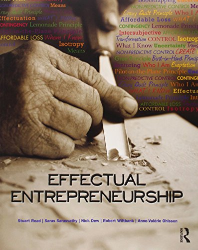 9780415586443: Effectual Entrepreneurship