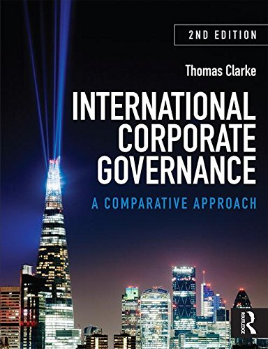 9780415586450: International Corporate Governance: A Comparative Approach