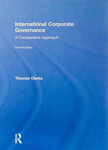 9780415586467: International Corporate Governance: A Comparative Approach