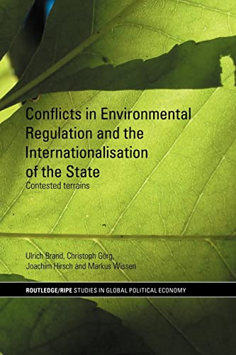 Conflicts in Environmental Regulation and the Internationalisation: Brand, Ulrich