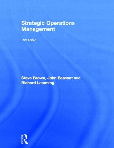 9780415587365: Strategic Operations Management