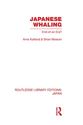 9780415588195: Japanese Whaling?: End of an Era