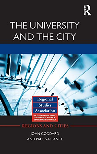 9780415589925: The University and the City (Regions and Cities)
