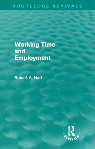 9780415590037: Working Time and Employment (Routledge Revivals)