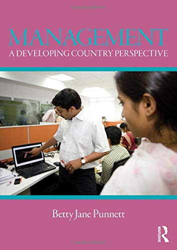 Management; a developing country perspective: Betty Jane. Punnett