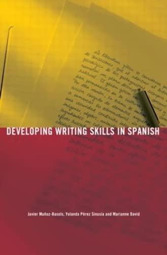 9780415590839: Developing Writing Skills in Spanish