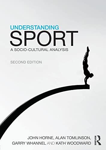 9780415591416: Understanding Sport: A socio-cultural analysis (CRESC)
