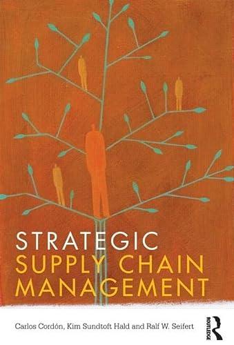 9780415591768: Strategic Supply Chain Management