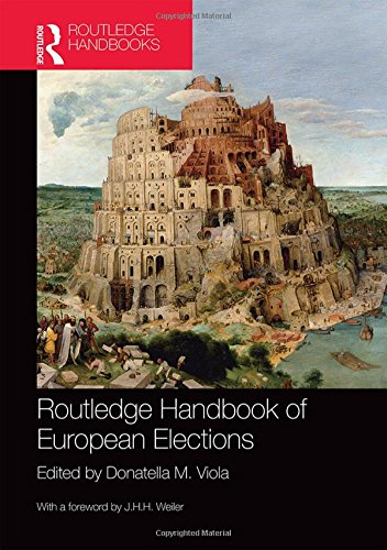 9780415592031: Routledge Handbook of European Elections
