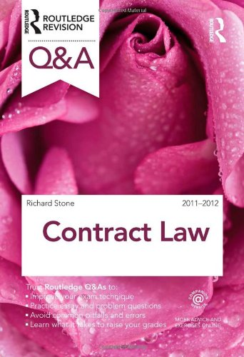 9780415593250: Q&A Contract Law 2011-2012 (Questions and Answers)