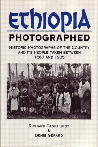 9780415593427: Ethiopia Photographed: Historic Photographs of the Country and its People Taken Between 1867 and 1935