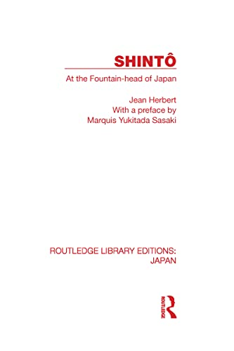 9780415593489: Shinto: At the Fountainhead of Japan