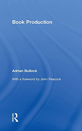 9780415593793: Book Production