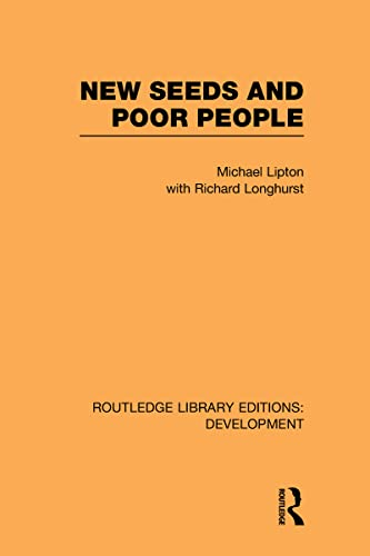 9780415595377: New Seeds and Poor People (Routledge Library Editions: Development)