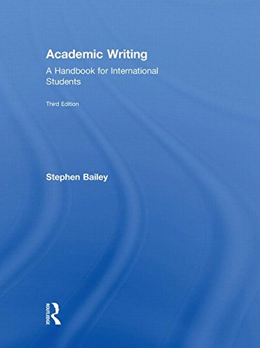 9780415595803: Academic Writing: A Handbook for International Students