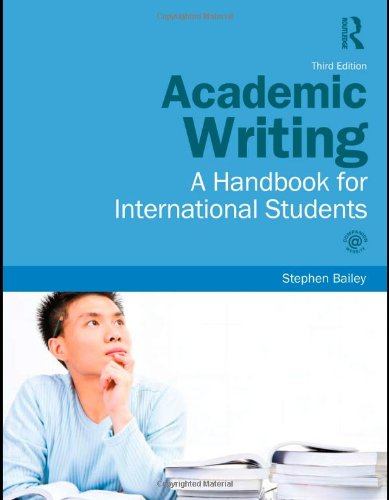9780415595810: Academic Writing: A Handbook for International Students: Volume 1