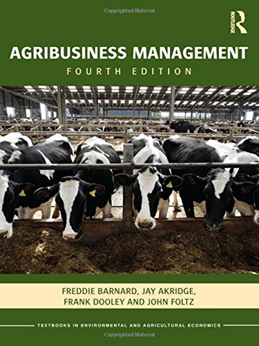 9780415596954: Agribusiness Management (Routledge Textbooks in Environmental and Agricultural Economics)