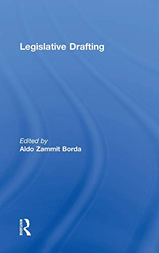 Legislative Drafting
