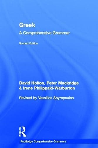 9780415598019: Greek: A Comprehensive Grammar of the Modern Language (Routledge Comprehensive Grammars)