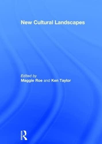 9780415598057: New Cultural Landscapes