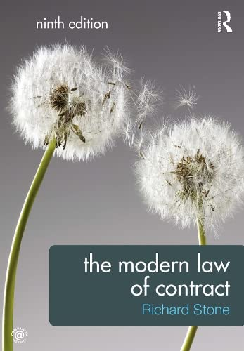 9780415598453: The Modern Law of Contract (Volume 3)