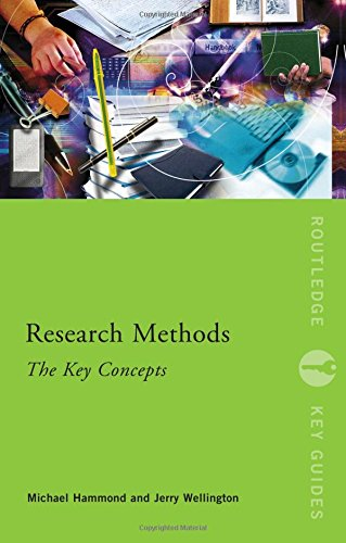 9780415599825: Research Methods: The Key Concepts