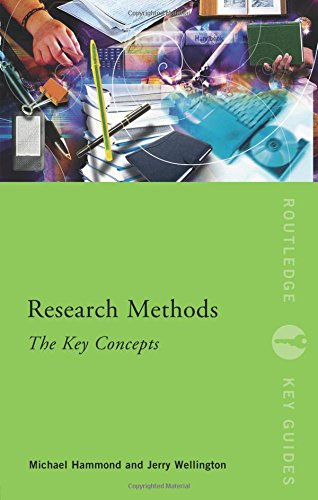 9780415599832: Research Methods: The Key Concepts. Routledge. 2012.