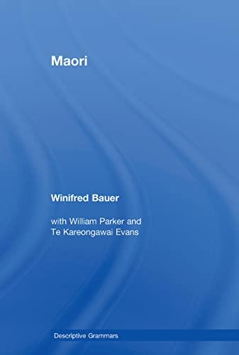 9780415599993: Maori (Descriptive Grammars)