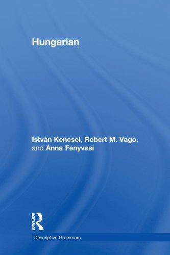 9780415600095: Hungarian (Descriptive Grammars)