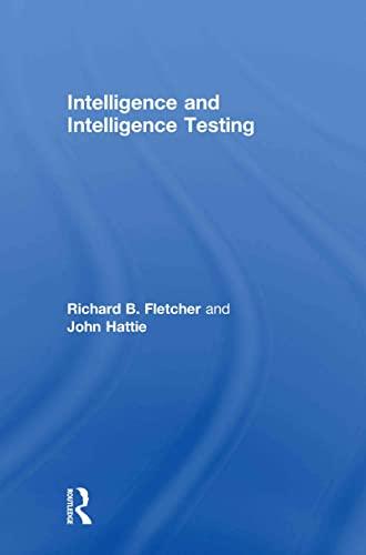 9780415600910: Intelligence and Intelligence Testing