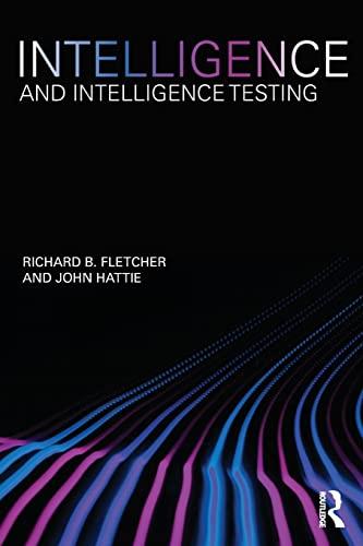 9780415600927: Intelligence and Intelligence Testing