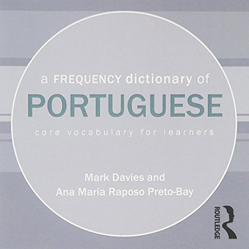 9780415601085: A Frequency Dictionary of Portuguese
